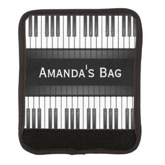 Klavier-Tastatur-Entwurfs-Gepäck-Griff-Verpackung Gepräckgriffwickel