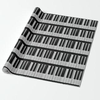 Klavier-Tastatur-Gewohnheits-Packpapier Geschenkpapier