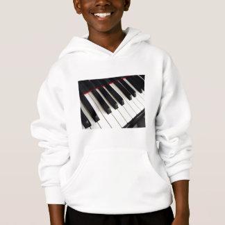 Klavier-Tastatur Hoodie