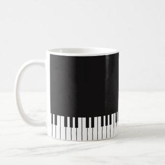Klavier-Tastatur-Kaffee-Tasse Kaffeetasse