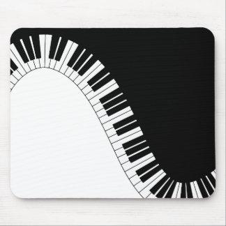 Klavier-Tastatur Mauspads