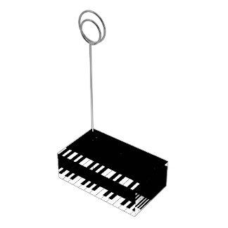 Klavier-Tastatur-Musik-Hochzeits-Kartenhalter Tischkartenhalter