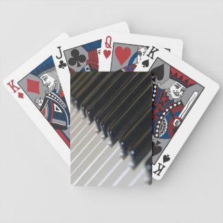 Klavier-Tastatur-Spielkarten Bicycle Spielkarten