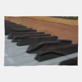 Klavier-Tastatur-Tuch Handtuch