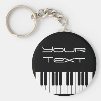 Klavier-Tasten-Kette Schlüsselanhänger