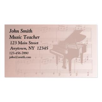 Klavier-Visitenkarte