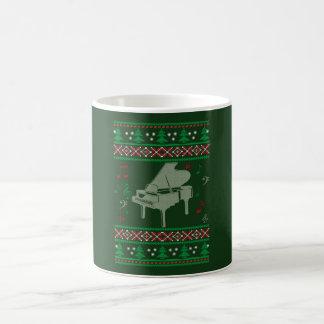 Klavier-Weihnachten Kaffeetasse