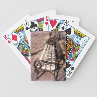 Klavierbank Bicycle Spielkarten