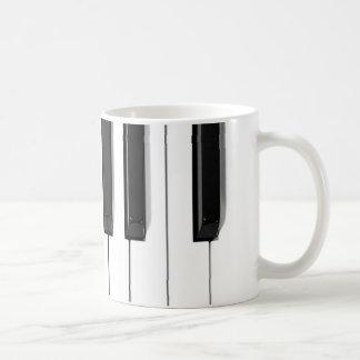 Klavierschlüssel Kaffeetasse