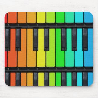 Klavierschlüsselmausunterlage Mousepad