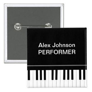 Klaviertastatur Anstecknadelbuttons