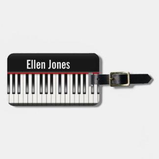 Klaviertastatur Kofferanhänger