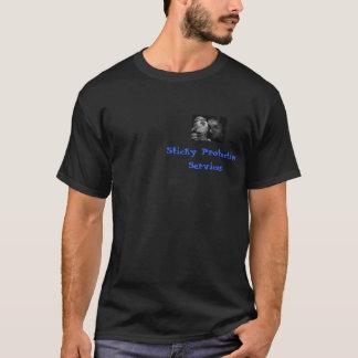Klebrige schützende Dienstleistungen T-Shirt