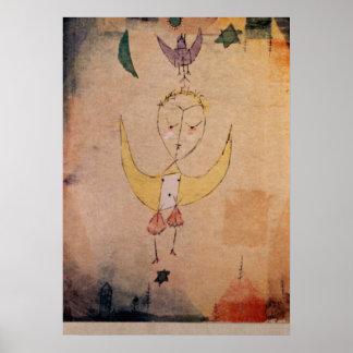 Klee - Angelus Descendens Poster