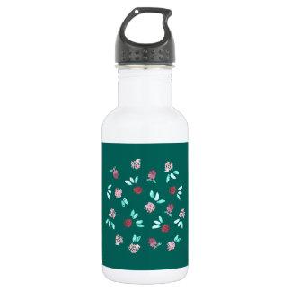 Klee-Blumen 18 Unze-Wasser-Flasche Edelstahlflasche