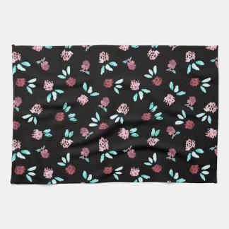 Klee-Blumen-Küchen-Tuch Handtuch