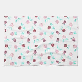 Klee-Blumen-Küchen-Tuch Küchentuch