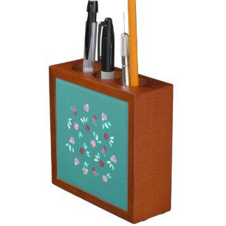 Klee-Blumen-Schreibtisch-Organisator Stifthalter