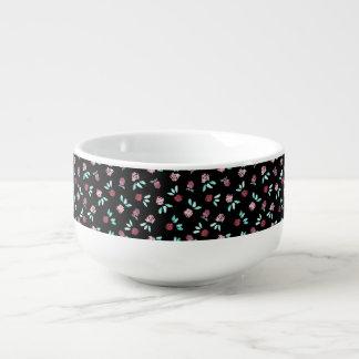 Klee-Blumen-Suppen-Tasse Große Suppentasse