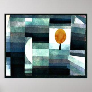 Klee - der Bote des Herbstes Poster
