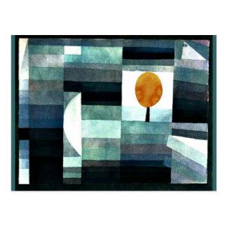 Klee: Der Bote des Herbstes Postkarte