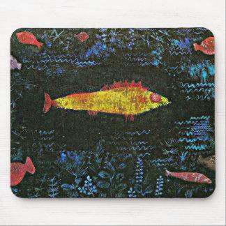 Klee - der Goldfisch Mousepad