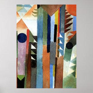 Klee - Der Wald der aus DM Samenkom enstand Poster