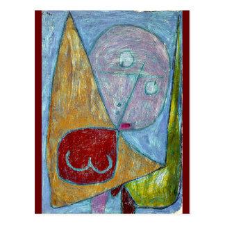 Klee - Engel noch weiblich Postkarten