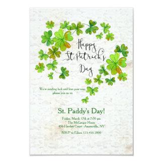 Klee-Kaskaden-St Patrick Einladung