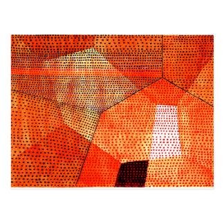 Klee - Modell 105, Polyphony in der Farbe Postkarten