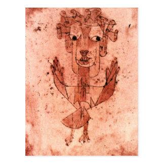 Klee - neuer Engel (Angelus Novus) Postkarte