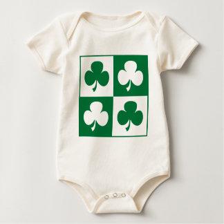 Kleeblatt Baby Strampler