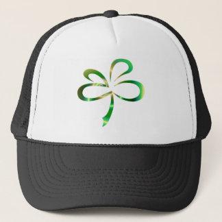 Kleeblatt-Entwurf St. Patricks Tages Truckerkappe