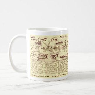 Kleeblatt Funktelegrafie 66 zur Kaffee-Tasse Los Kaffeetasse
