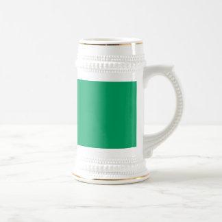 Kleeblatt-Grün Bierglas