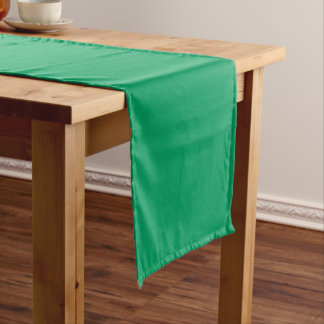 Kleeblatt-Grün Kurzer Tischläufer