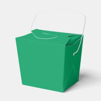 Kleeblatt-Grün nehmen Bevorzugungs-Kasten heraus Geschenkschachtel