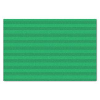 Kleeblatt-grüne Streifen Seidenpapier