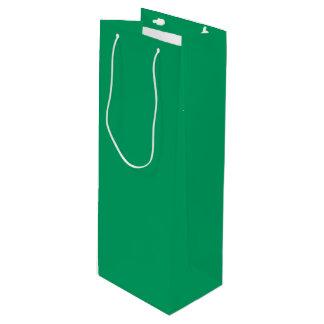 Kleeblatt-grüne Wein-Geschenk-Tasche Geschenktüte Für Weinflaschen