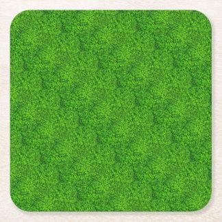 Kleeblatt-grünes irisches St. Patricks Day Irland Rechteckiger Pappuntersetzer