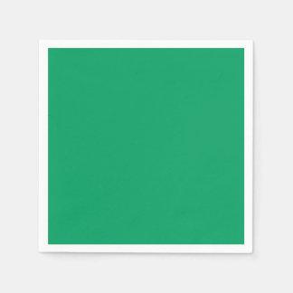 Kleeblatt-grünes Standardcocktail-Papierserviette Papierserviette