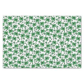 Kleeblatt-Klee-Muster Seidenpapier