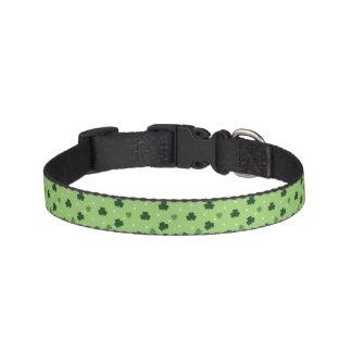 Kleeblatt-Muster-Hundehalsband Haustierhalsband