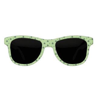 Kleeblatt-Muster-Rahmen-Sonnenbrillen Sonnenbrille