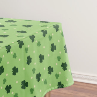 Kleeblatt-Muster-Tischdecke Tischdecke
