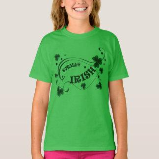 Kleeblatt-total irische Mädchen St. Patricks Tages T-Shirt