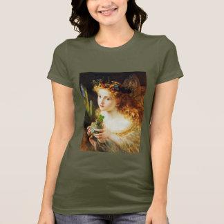 Kleeblatt-und Fee-Heiligen Patrick TagesT - Shirt