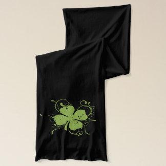 Kleeblatt und Wirbel Schal