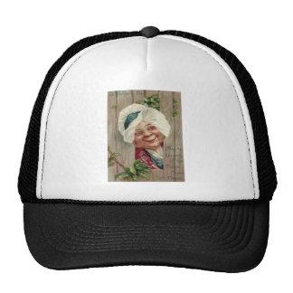 Kleeblatt-Zaun-Mütze alter Damen-Lächeln Baseballmütze