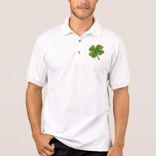 Kleeblätter Polo Shirt